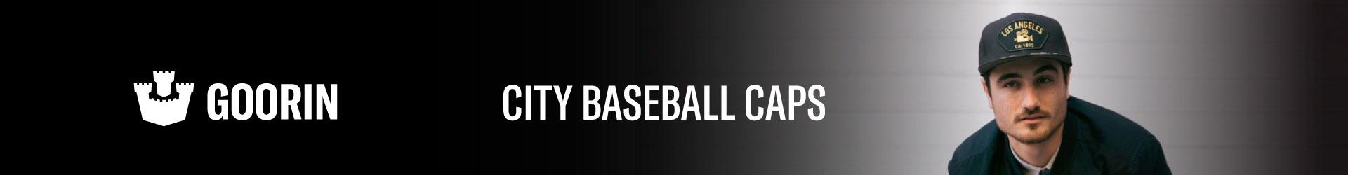 Goorin City Baseball Caps